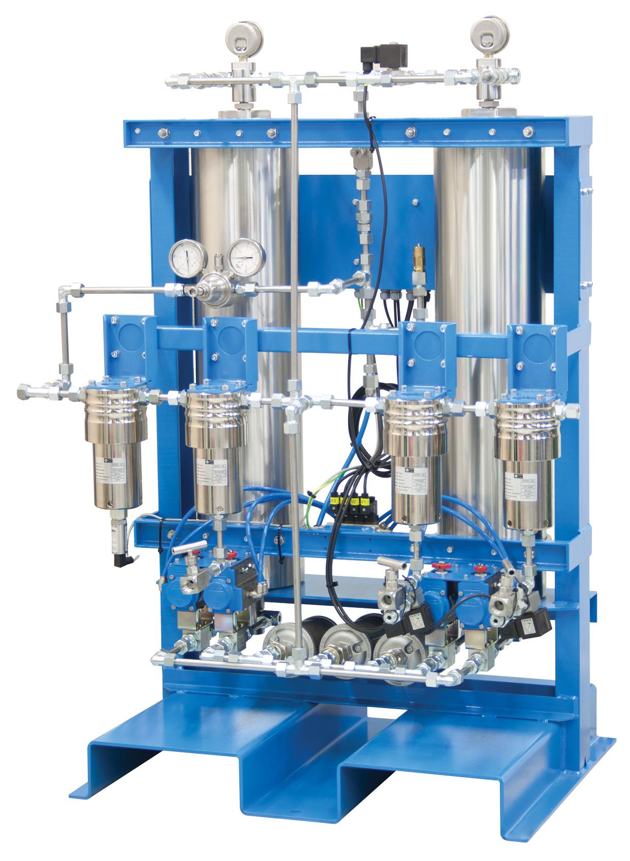 High Pressure Filter Bank