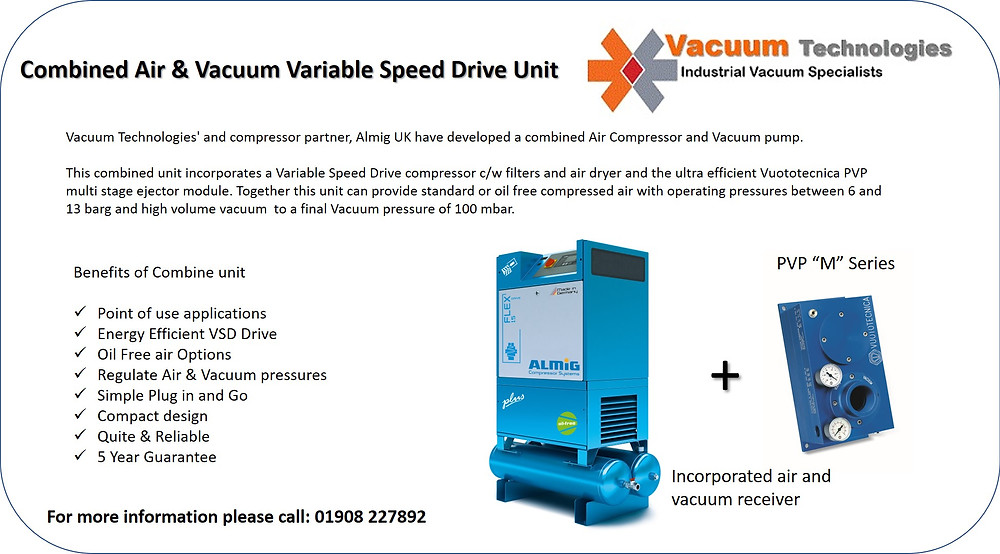 Compressed air & Vacuum VSD