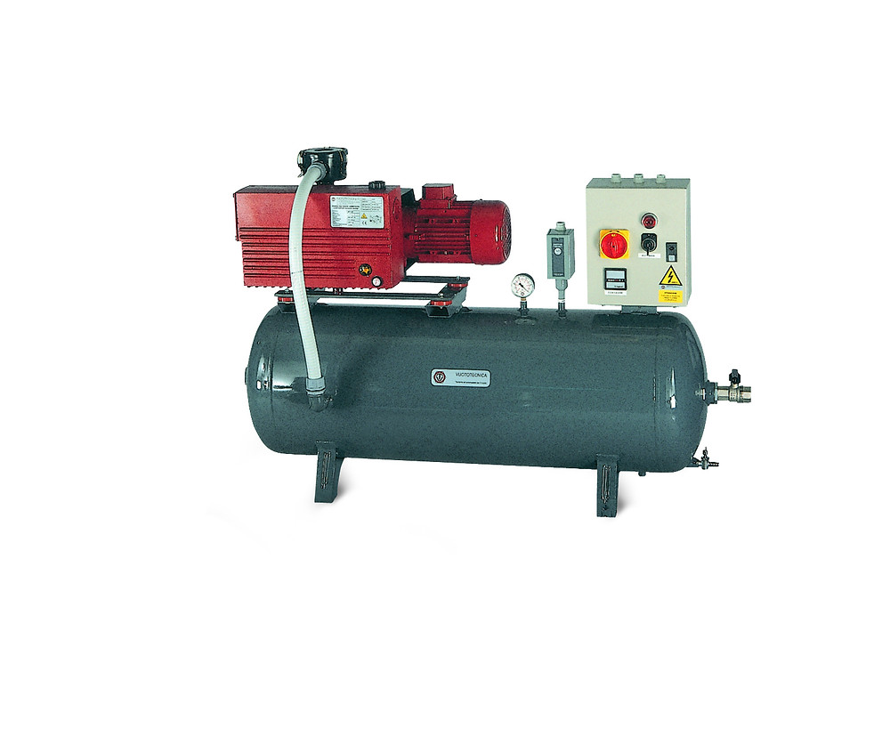40m3/hr Vacuum Pump Set