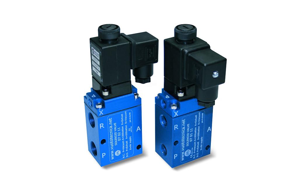 3 way servo valves