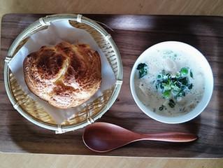 ポップオーバーとスープ