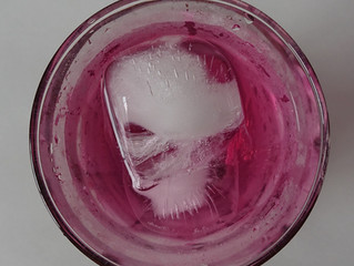 紫蘇ジュース。