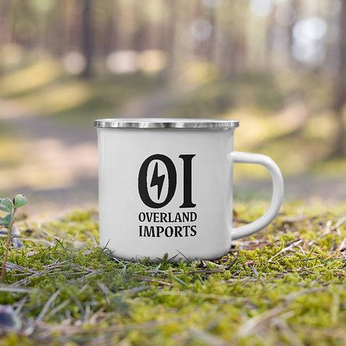 Overland Imports Enamel Mug