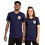 Thumbnail: Ales and Overlands Navy, Unisex Short sleeve t-shirt