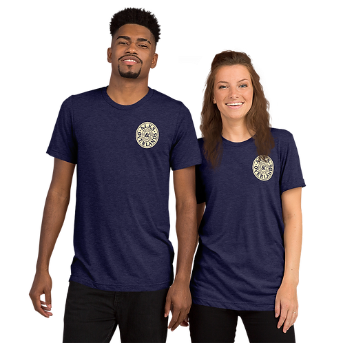 Ales and Overlands Navy, Unisex Short sleeve t-shirt