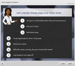 Hand hygiene 6