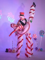 Candy Cane & Dandy Cane - Stilts