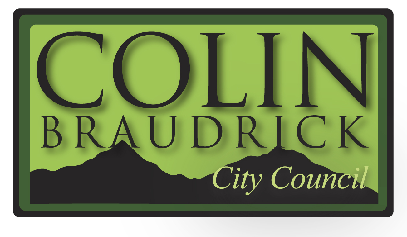 Colin Braudrick for City Council