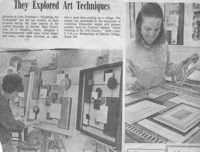 Exploring Art Techniques - Santa Cruz Se