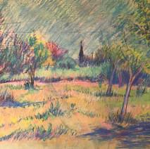 Orchard Landscape (18x24)