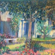 Swift St. Garden Pastel (17x20) 1990