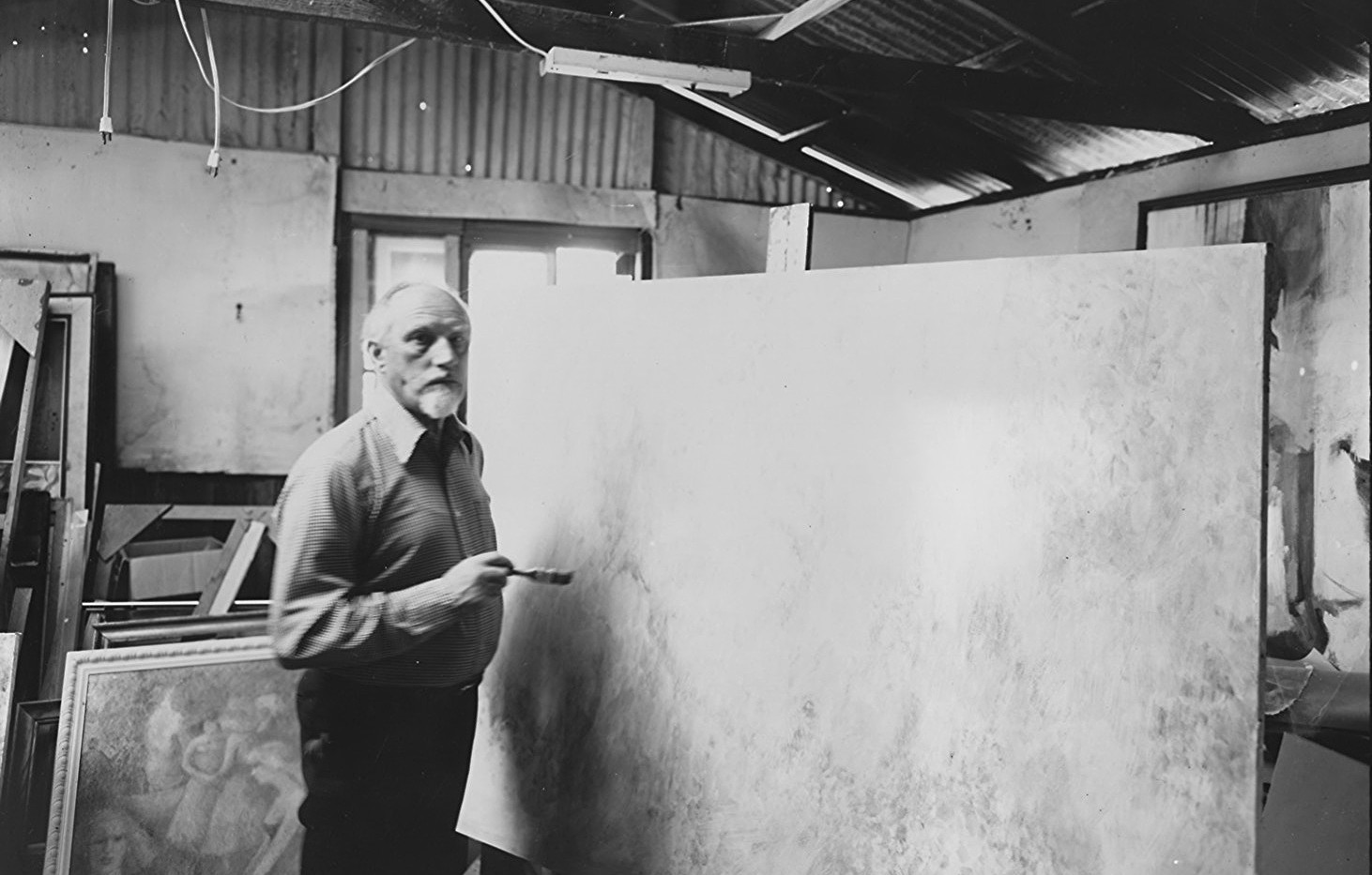 John Faulkner in his studio in Santa Cruz, CA 1987.jpg