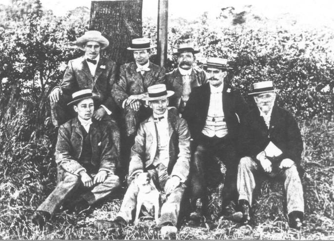 Faulkner Family Circa 1915