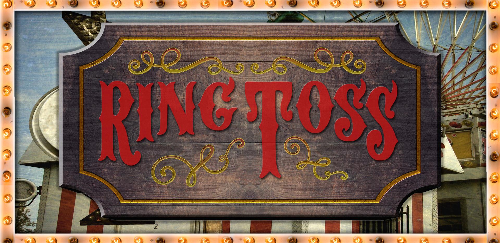 Ring Toss Display - Good Trouble Season 2