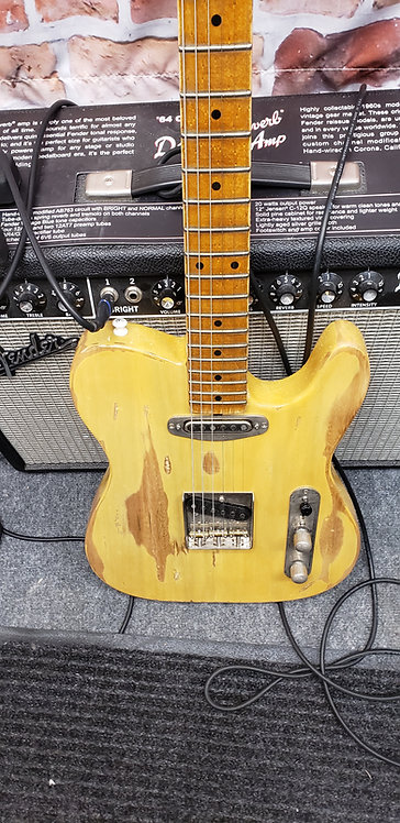 Butterscotch Tele Reliced