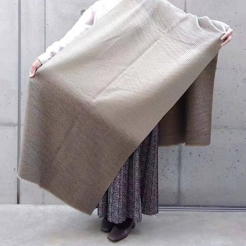 ウール&シルクのあったか大判ストール