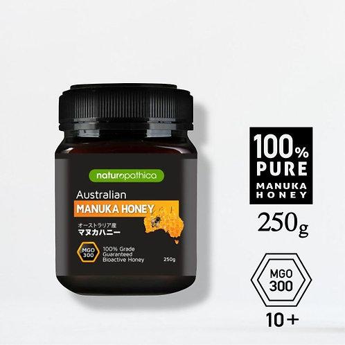 巣箱と同じ温度で【高品質】黄金のマヌカハニー MGO300 (UMF10+ 相当) 250g オーストラリア
