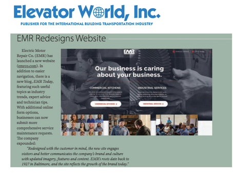 EMR Overhauls Website Enhancing Online Experience for Customers