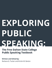 Exploring Public Speaking: 2nd Revision