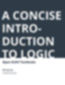 A Concise Introduction to Logic