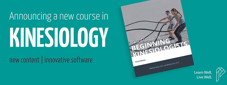 Perceivant will offer a new Introduction to Kinesiology course beginning in the fall of 2020.