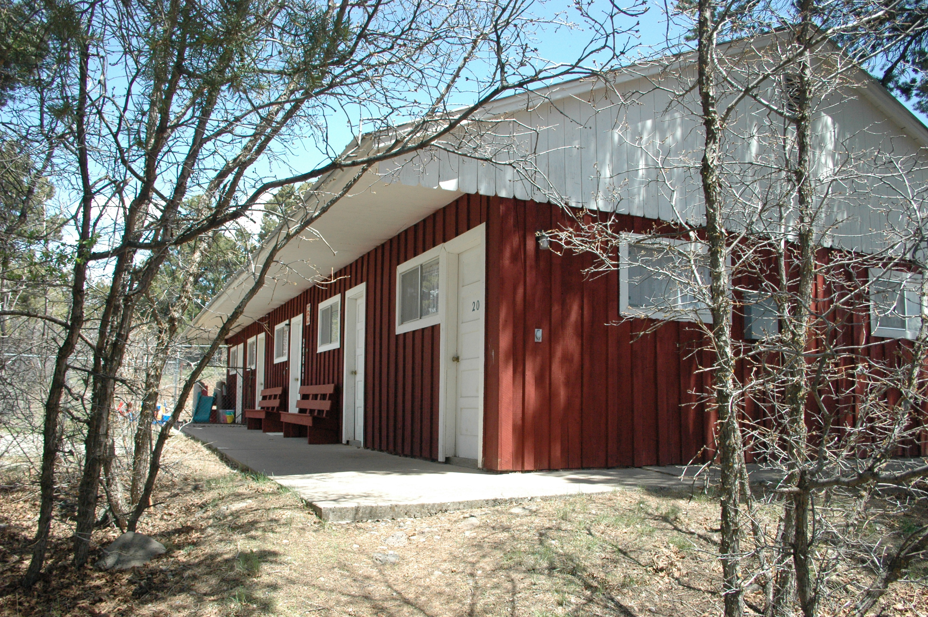 Upper Cabins & Dorms