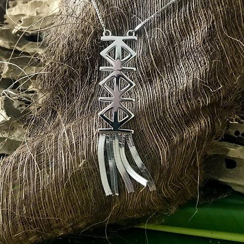 FONU Taimoni Fringe Necklace