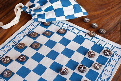 RISE BEYOND THE REEF checkers set