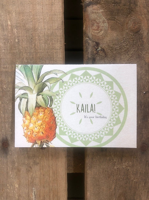 GIFT CARD Kaila! Its your Birthday