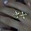 Thumbnail: ADORN Frangipani Bua Ring - Silver or Gold