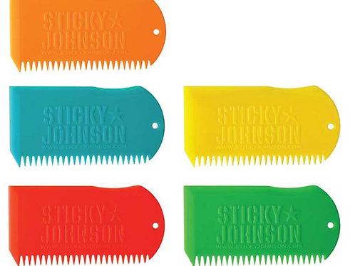 Sticky Johnson Wax Comb