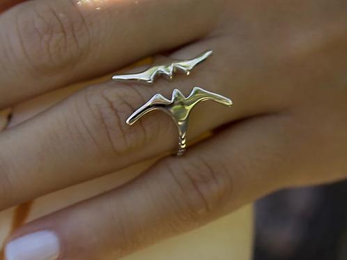 ADORN Frigate Bird Ring - Silver or Gold