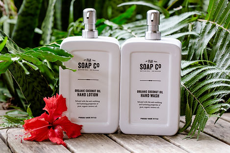 Fiji Soap Co Orgaic coconut lotion The P