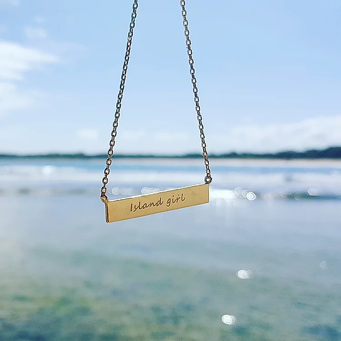 ADORN Island Girl Necklace