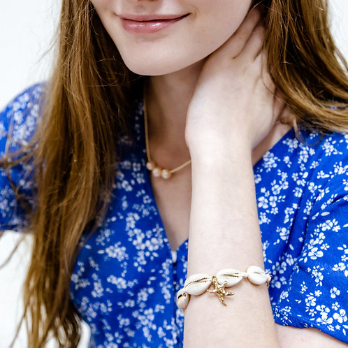 HANALEIA Cowrie Shell bracelet