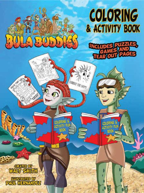 BULA BUDDIES colouring & activities book