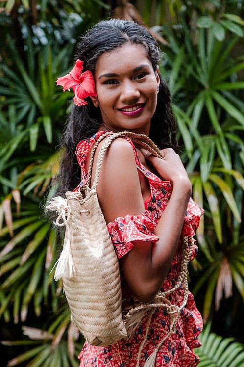 VANUATU Woven Backpack