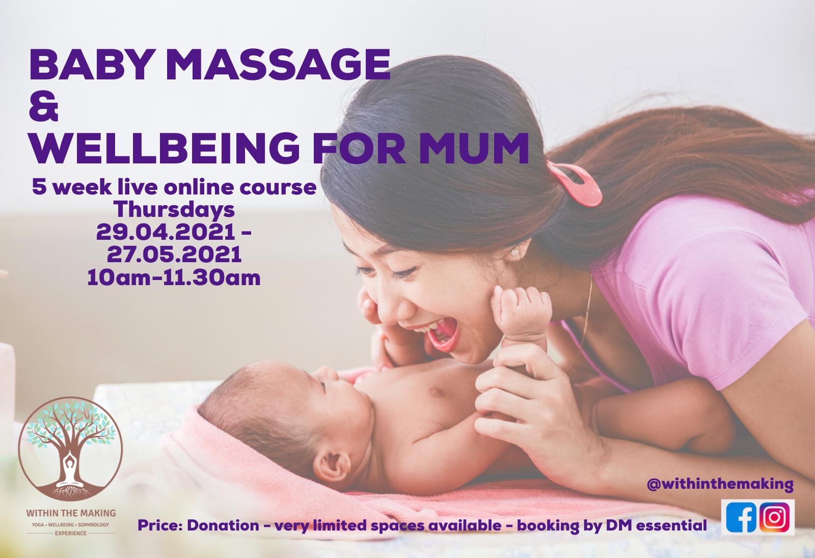 Baby Massage & Wellbeing For Mum