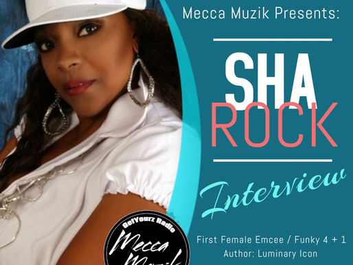 Guest Emcee Sha Rock on Mecca Muzik
