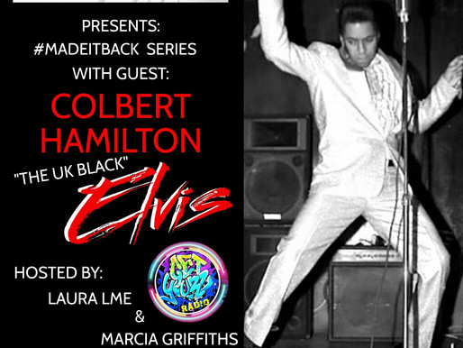 """#madeitback by Verses In Motion with The UK """"Black Elvis"""""""