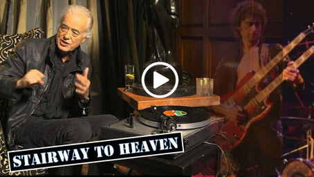 Jimmy Page: How Stairway to Heaven was written