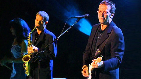 "Eric Clapton & Sheryl Crow - ""Little Wing"" (Amazing David Sanborn Saxophone Solo) Live 1999"