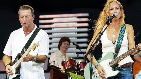 "Sheryl Crow & Eric Clapton - ""Tulsa Time"" - Live 2007"