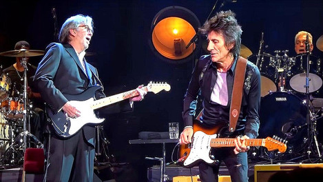 Eric Clapton and Ronnie Wood - Badge - Live 2020 (Tribute to Ginger Baker Concert)