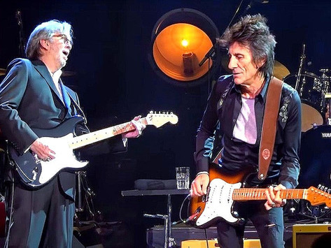 Eric Clapton and Ronnie Wood - Badge - Live 2020