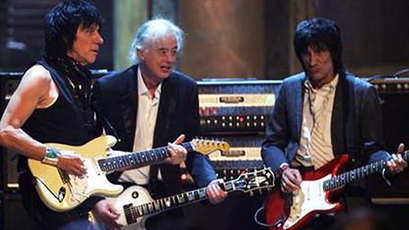 Jeff Beck, Jimmy Page, Ron Wood, Joe Perry, Flea and Metallica - Train Kept A-Rollin' - Live 2009