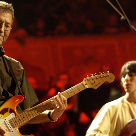 """Eric Clapton - """"While My Guitar Gently Weeps"""" (from Concert For George)"""
