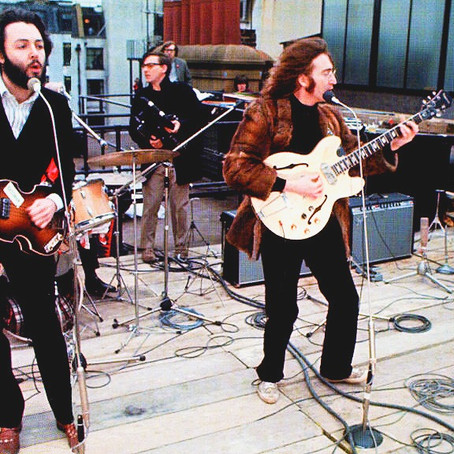 """The Beatles - """"Don't Let Me Down"""" (The Beatles' Rooftop Concert Final Performance)"""