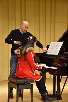 Piano Master Class at the University of Shanghai
