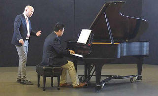 Piano Master Class at Oxford College of Emory University